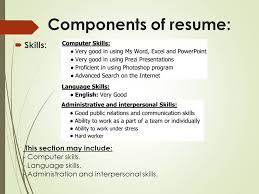 Skills To Include On Resume Amazing Your Way Toward Professional Resume Ppt Video Online Download
