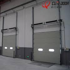 industrial garage door. Workshop Overhead Auto Control Vertical Lifting Sectional Industrial Garage Door