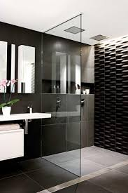 black white small bathroom designs