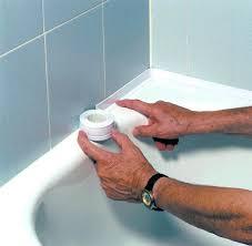 tub caulk strip bathtub caulking tape home improvement cast jennifer