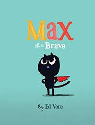 ed vere s sweet design minded book tells the tale of an adorable fearless kitten off to battle with a great big fearsome mouse