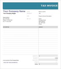 Free Tax Invoice Template free invoice template australia word 100 tax invoice templates 8