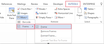 Frame For Word How To Easily Insert Frame Into Document In Word