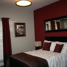 red accent wall bedroom accent wall ideas red accent wall small bedroom