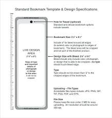 Bookmark Size Template Free Printable Blank Templates For