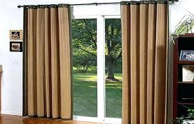 patio door curtains and blinds sliding glass door curtains with blinds lush sliding glass door curtains