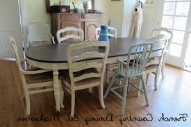 Rubberwood Kitchen Table French Country Cottage Dining Room Solid Wood Frame And Legs
