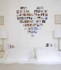 Photo Wall Collage Without Frames: 17 Layout Ideas. Where the heart is