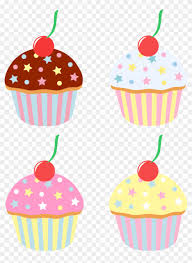 cupcakes with sprinkles clipart. Plain Clipart Cupcakes  With Sprinkles Clipart Cartoon Png Inside
