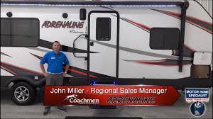 coachmen adrenaline 26cb toy hauler travel trailer rvs at mhsrv
