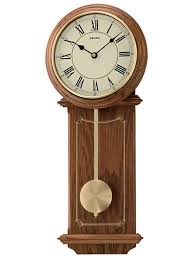 seiko brown wooden wall clock qxc213b