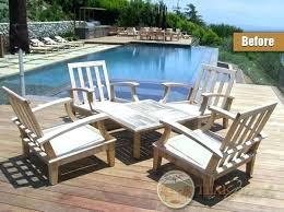 houzz outdoor furniture. Houzz Patio Furniture Outdoor Elegant Weathered Teak Tables