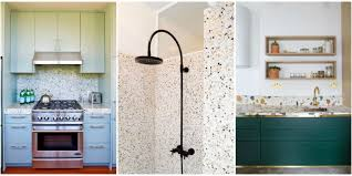 Kitchen Floor Material Terrazzo Flooring Makes A Comeback Popular Flooring Ideas On