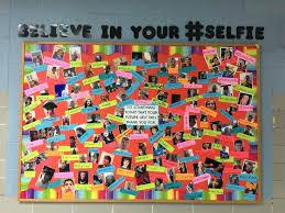 office board ideas. Office Message Board Middle School Bulletin Idea Believe In Your Selfie Have Each Student . Ideas