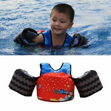 Details About Kids Life Jacket Buoyancy Vest Float Puddle Jumper Swim Pool Baby Infant Safety