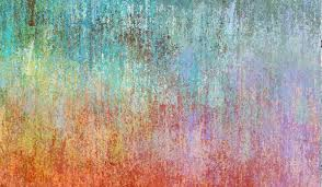 Painted Wall. colorful eroded textures