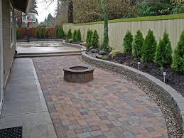 backyard paver designs. Wonderful Backyard Backyard  With Backyard Paver Designs P