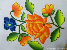 Fabric Painting Designs Of Birds Fabric Painting Classes Offered For Children And Adults