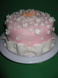 Girly Baby Shower Cakecupcakes Cakecentralcom