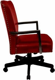 traditional leather office chairs. INSPIRED By Bassett Traditional Red Eco Leather Office Chair [BP-MGTC-EC19] Chairs .