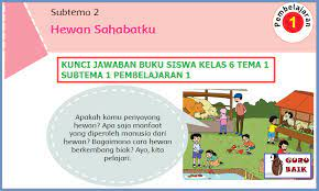 Kunci jawaban tema 2 kelas 6 halaman 146 147 148, aku cinta membaca: Jawaban Tematik Tema 1 Kelas 6 Subtema 2 Pembelajaran 1 Halaman 63 64 66 71 Dan 72 Guru Baik