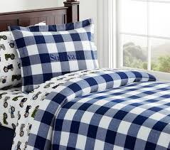 sullivan buffalo check duvet cover kids bedding san francisco by pottery barn kids