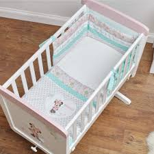disney minnie mouse 3 piece crib set