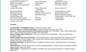 Awesome Beginning Child Actor Resume Gallery Entry Level Resume
