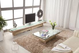 Living Room Tables Sets Parsons Square Coffee Table With Travertine Top Travertine Coffee