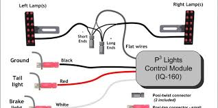 grote led tail light wiring diagram complete wiring diagrams \u2022 Turn Signal Relay Wiring Diagram at Grote Wiring Schematics