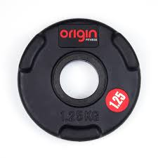 origin 117 5kg rubber olympic weight plate set