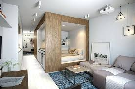 studio interior design designing this compact studio apartment in st the  designer aimed for an effect