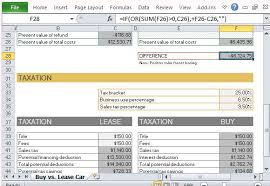 car leases calculator buying vs leasing calculator ender realtypark co