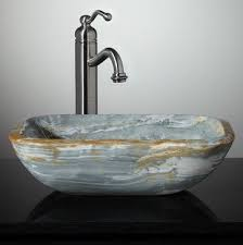 New Stone Vessel Sinks Bathroom Sinks  Pinterest