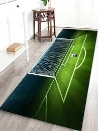 football area rug football field print area rug green inch inch football shaped area rug alabama football area rugs