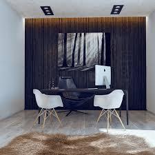 Black and white office design Ultra Modern Black And White Office Interior Design Ideas Black And White Office Interior Design Ideas