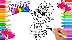 We have over 3,000 coloring pages available for you to view and print for free. Miss Piggy Disney Muppet Babies Coloring Page Disney Jr Muppet Babies Coloring Book Printable Youtube