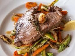 a 5 star recipe for grilled yellow fin tuna steak made with tuna steak garlic tamari soy sauce black pepper