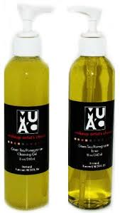green tea pomegranate cleanser by makeup artists choice