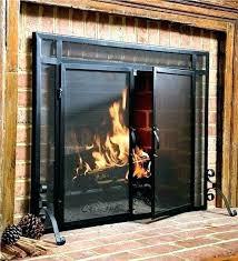 fireplace glass doors and screens uk