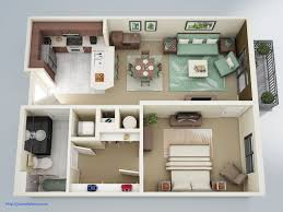 One Bedroom House Plans Elegant 1 Bedroom Apartment House Plans