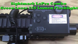 Sightmark Laser Light Combo Review Sightmark Lopro Combo Green Laser 220 Lumen Flashlight