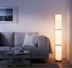 living room floor lighting. VIDJA Floor Lamp, White Living Room Lighting