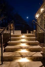 lighting steps. image of louisville outdoor stair lighting steps
