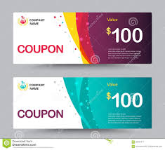 gift voucher card template design for special time coupon temp gift voucher coupon template design for special time coupon temp royalty stock photography