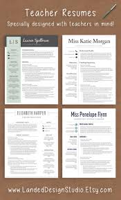 ideas about Teacher Resumes on Pinterest   Teacher Resume     Professionally designed resumes with teachers in mind  Completely transform your resume with a teacher resume