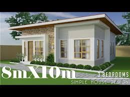 8mx10m 80sq m simple house design