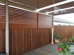 Timber Look Aluminium Screen+Carnes Hill. Slatted Privacy Screen_Bardia