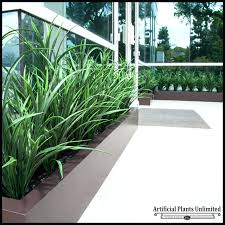 tall fake tree artificial tall grass outdoor to enlarge