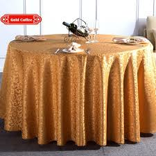 red white yellow multi size polyester washable hotel round dinner table cloth for wedding party decoration